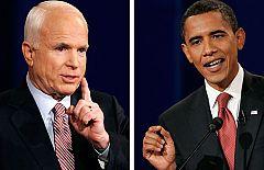 2008 - Zapatero sale a relucir en el cara a cara Obama-McCain