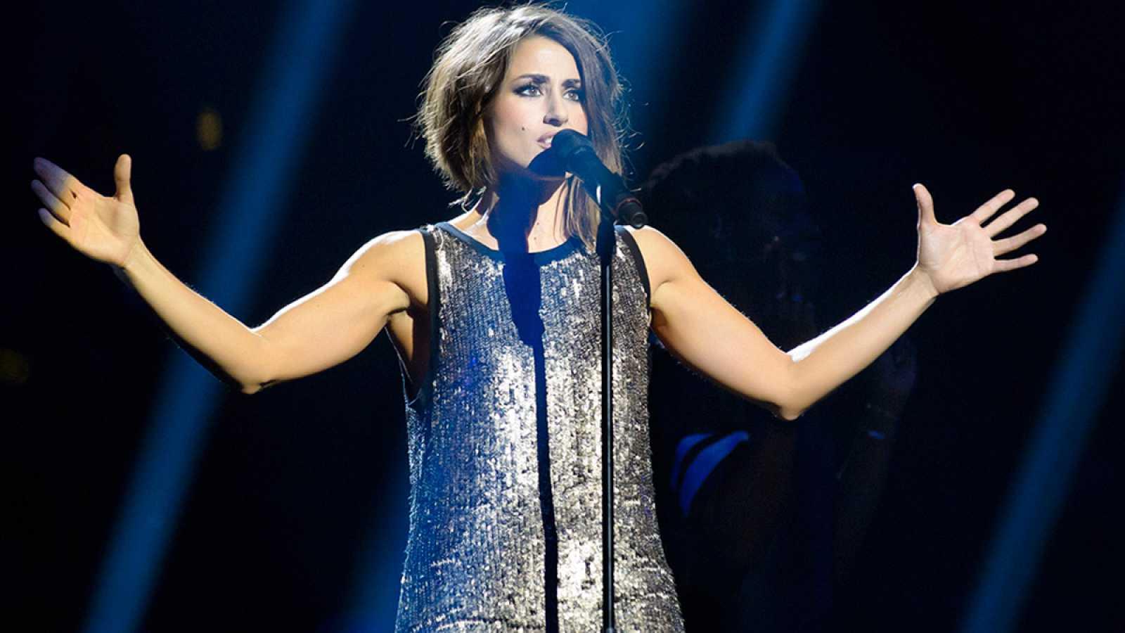 Eurovisión 2016 - Primer ensayo de Barei en Eurovisión 2016