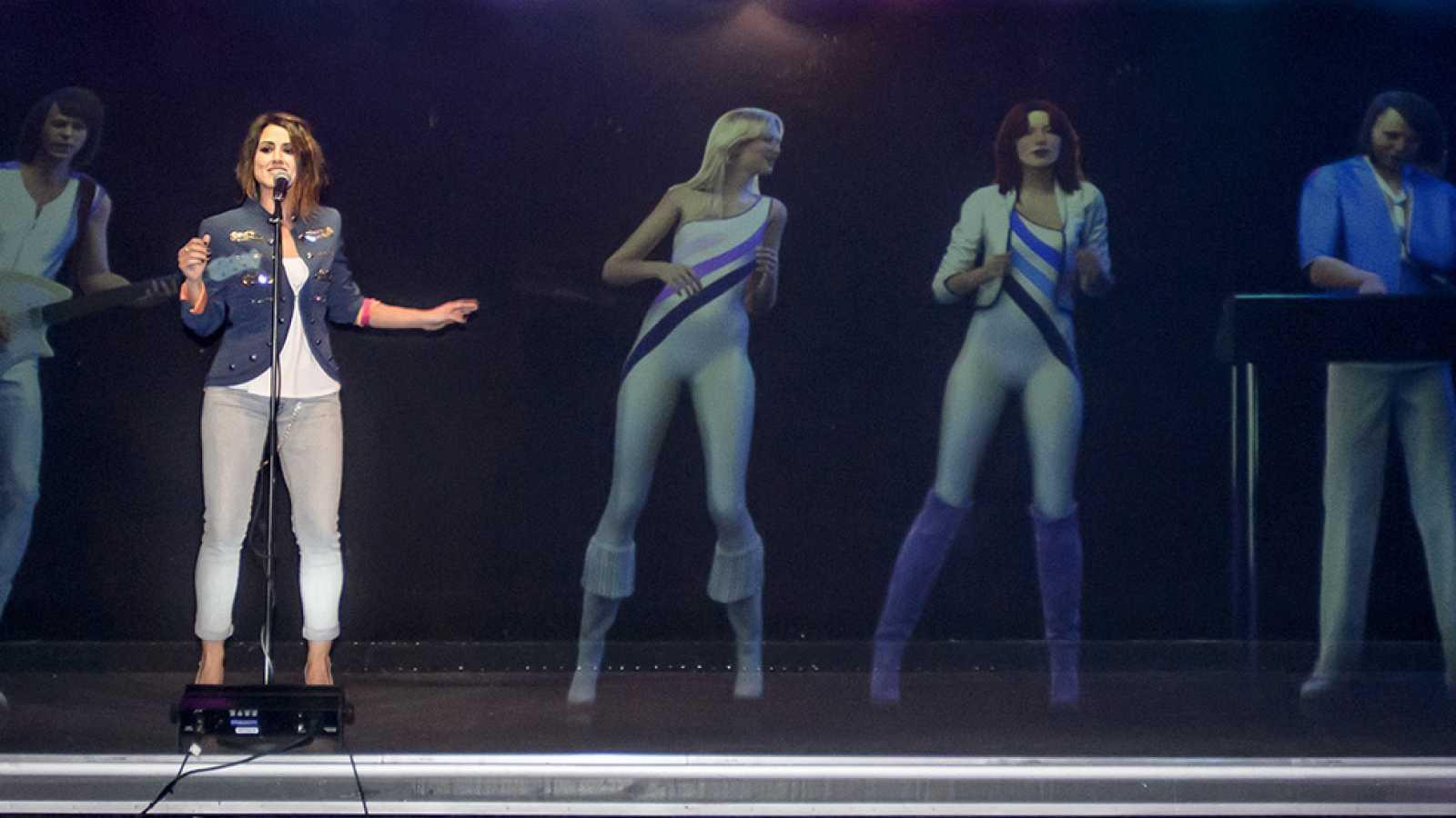 Eurovisión 2016 - Barei, al ritmo de ABBA en Estocolmo