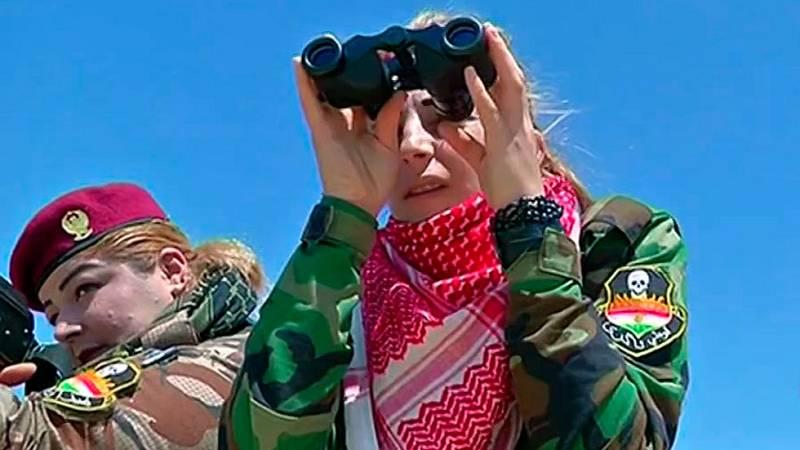 Cientos de mujeres luchan contra el Estado Islámico en la zona del Kurdistán para acabar con las violaciones y torturas a otras mujeres kurdas