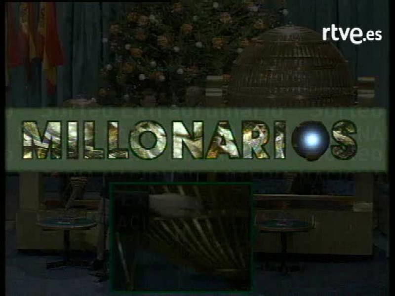 Primer sorteo de la lotería de Navidad en euros