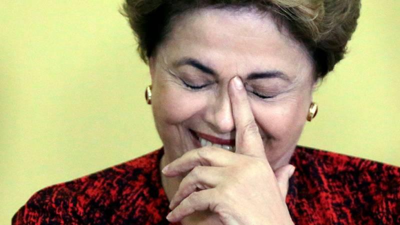 El presidente del Senado rechaza suspender el proceso contra Dilma Rousseff