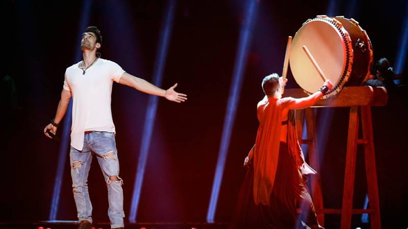 Eurovisión 2016 - Semifinal 1 - Hungría: Freddie canta 'Pioneer'