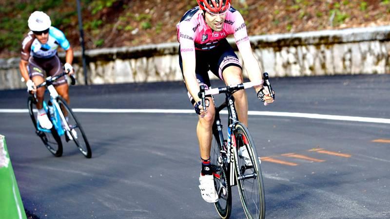 El belga Tim Wellems (Lotto Soudal) se ha impuesto en solitario en la sexta etapa del Giro de Italia disputada entre Ponte y Roccaraso, de 157 kilómetros, en la que el holandés Tom Dumoulin conservó la maglia rosa de líder.
