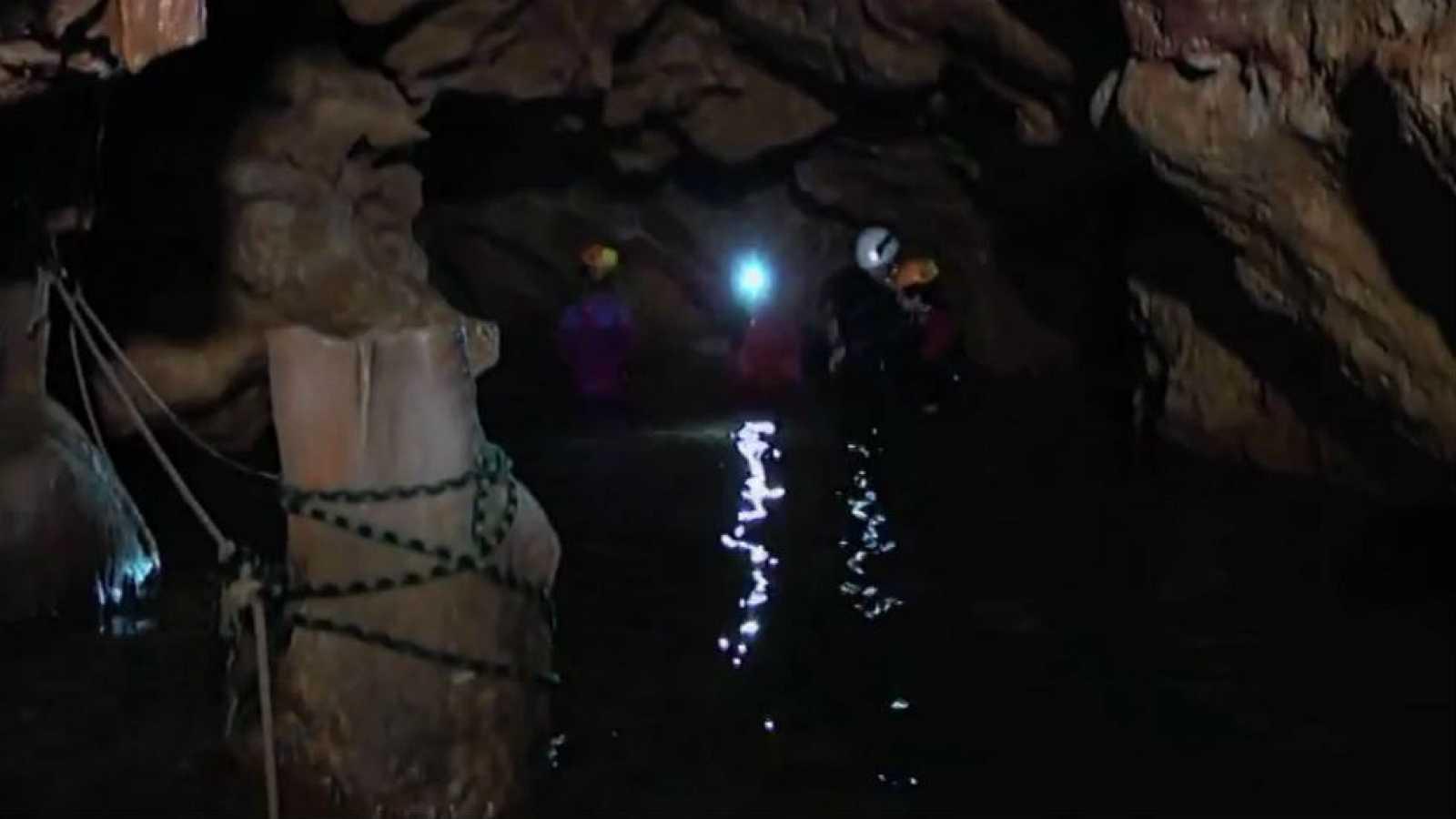 Una cueva urbana bajo Tarragona