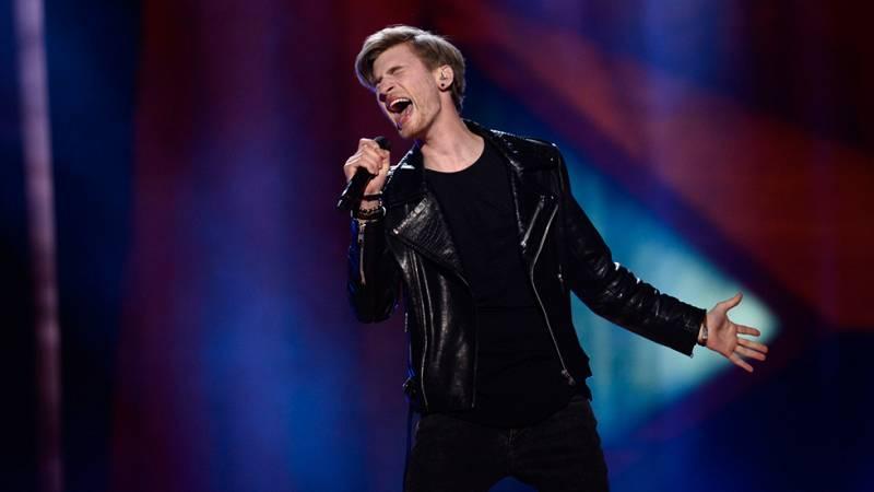 Eurovision 2016 - Semifinal 2 - Letonia: Justs canta el tema 'Hearbeat'