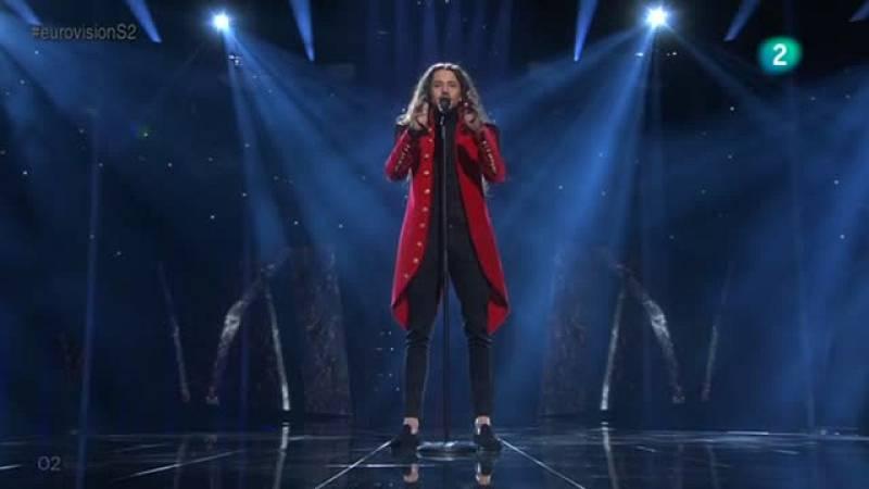Eurovision 2016 - Semifinal 2 - Polonia: Micha: Szpak interpreta la balada 'Color Of Your Life'