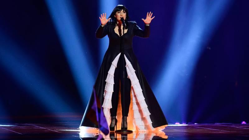 Eurovision 2016 - Semifinal 2 - Macedonia: Kaliopi defiende el tema 'Dona'