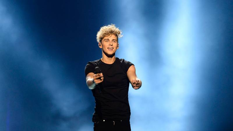 Eurovision 2016 - Semifinal 2 - Lituania: Donny Montell canta 'I've been Waiting For This Night'