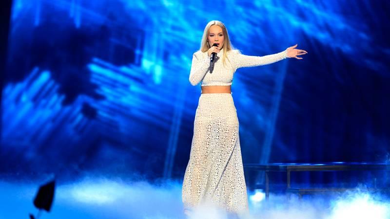 Eurovision 2016 - Semifinal 2 - Noruega: Agnete interpreta 'Icebreaker'