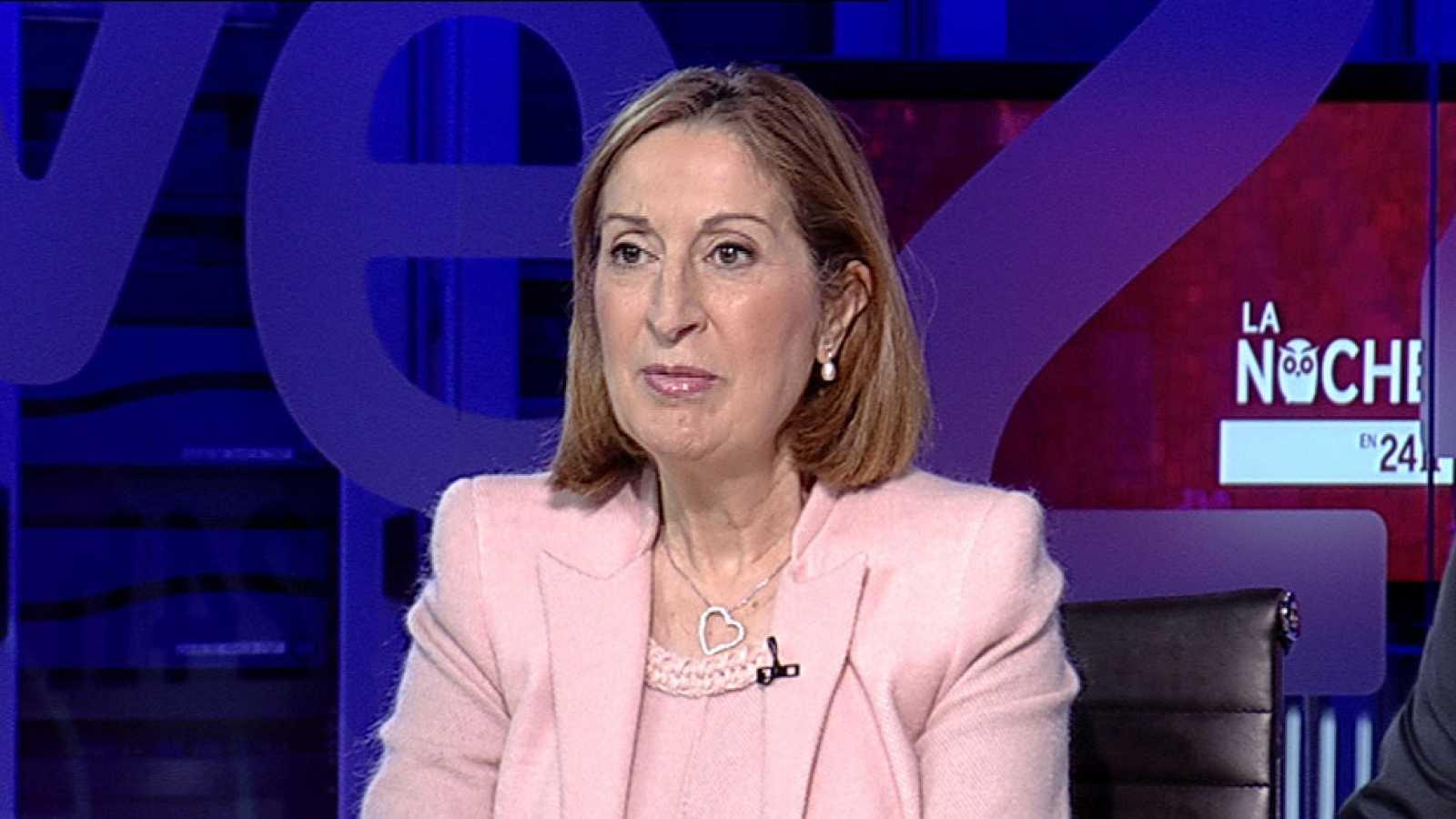 Ana Pastor sobre la alianza electoral de Podemos e IU dice que el populismo se une al comunismo