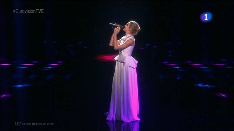 Eurovisión 2016 - República Checa: Gabriela Guncíková canta 'I Stand'