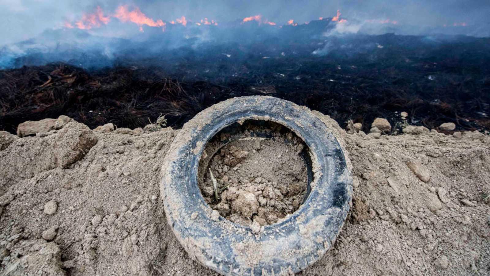 En Seseña el incendio se da por controlado