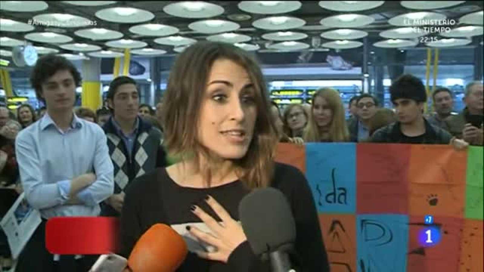 Eurovisión 2016 - Las primeras declaraciones de Barei a su llegada a España