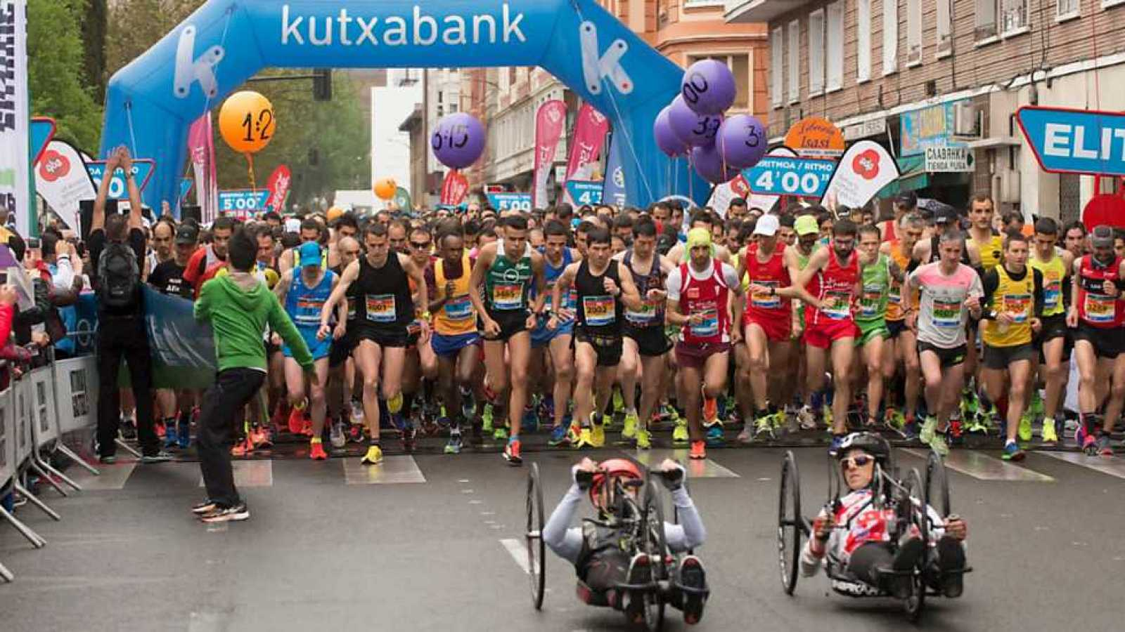 Atletismo - EDP Vitoria-Gasteiz Maratón Martín Fiz 2016 - ver ahora