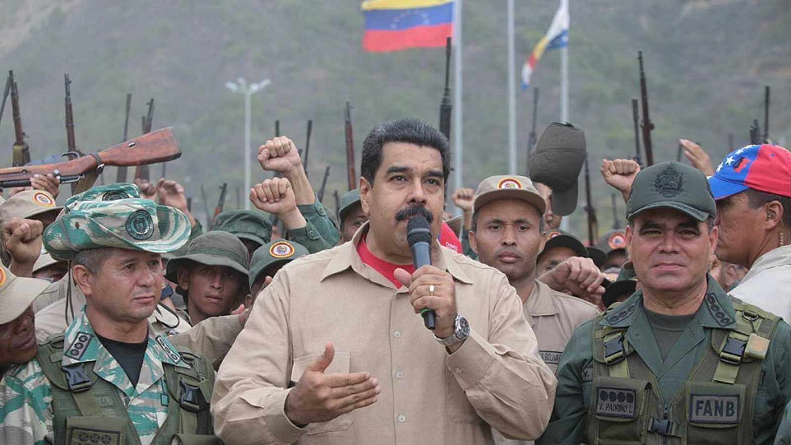 Maduro asegura que Venezuela está prepada para una invasión extranjera