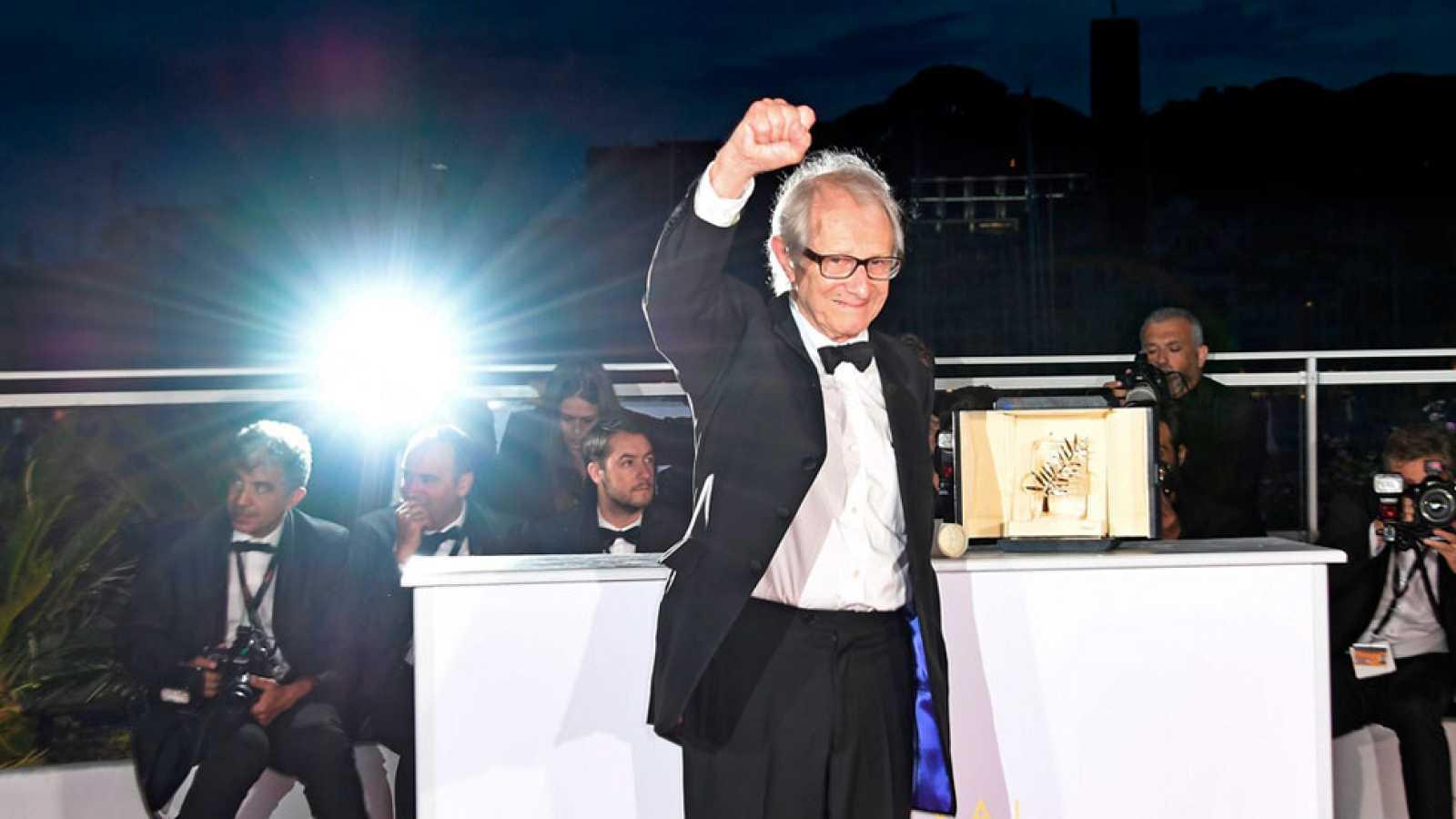 Ken Loach gana la Palma de Oro en el Festival de Cannes