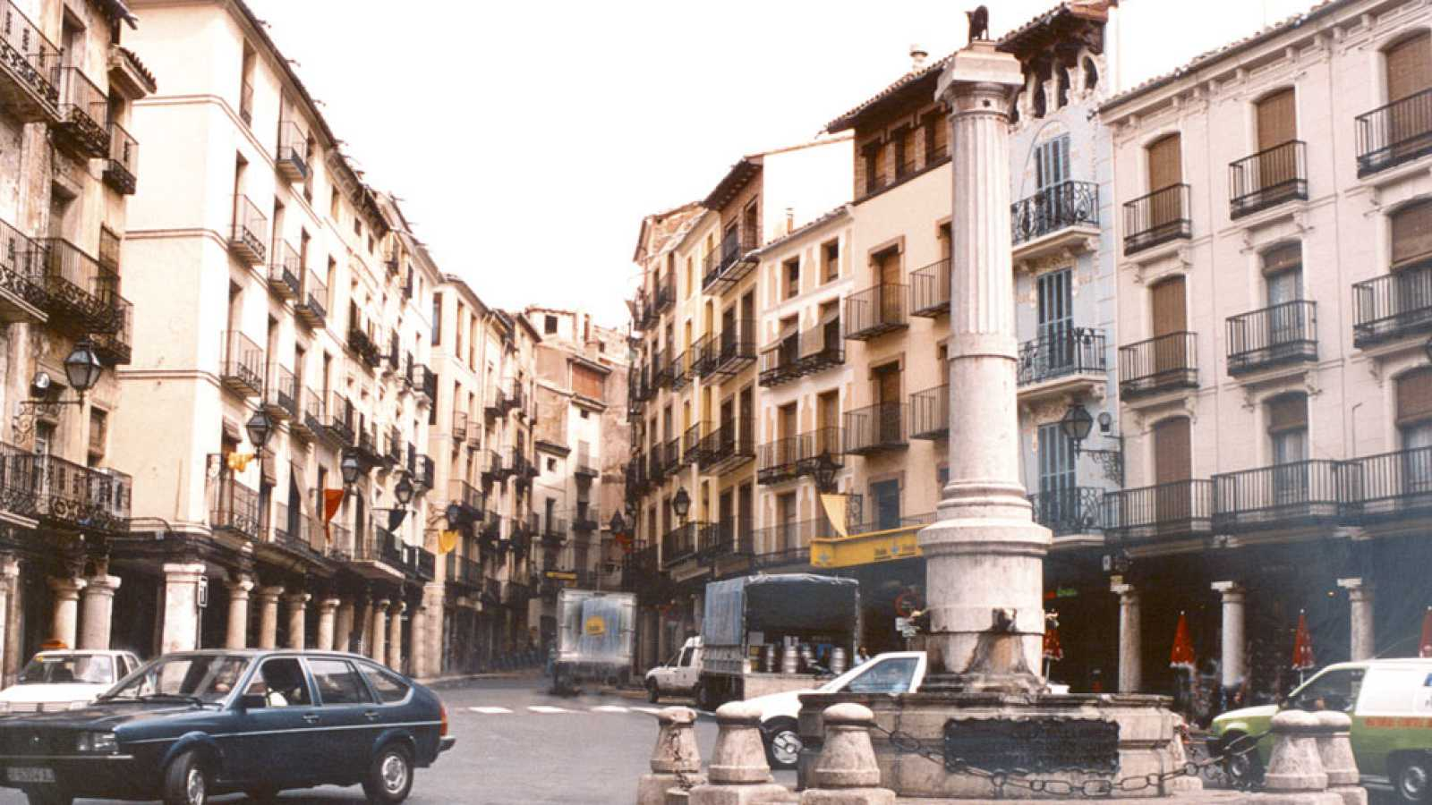 A vista de pájaro - Plazas mayores (I)