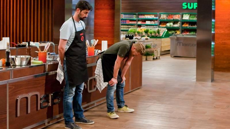 MasterChef 4 - Daniel abandona las cocinas