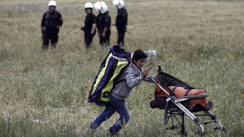Llega a España un nuevo grupo de 27 refugiados