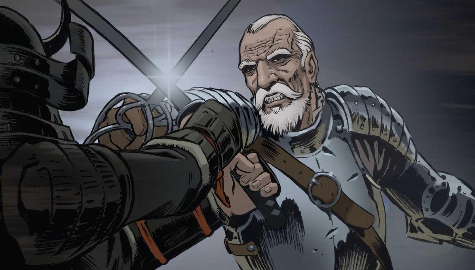 Tráiler del cómic 'Espadas del fin del mundo'