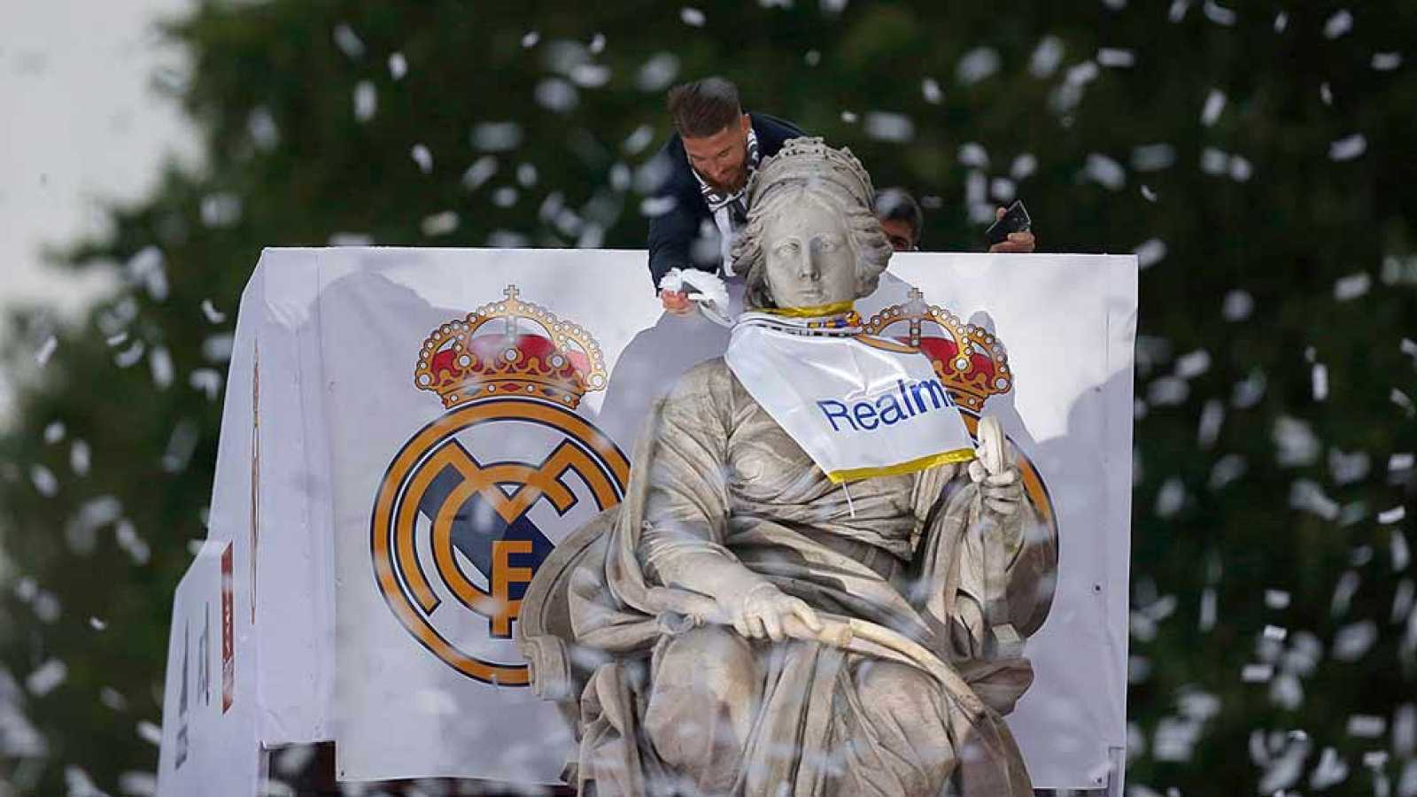 Final Champions | Madrid vs Atlético | El Real Madrid brinda la ...