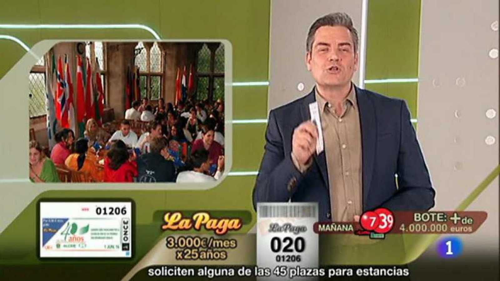 Sorteo ONCE - 01/06/16 - ver ahora