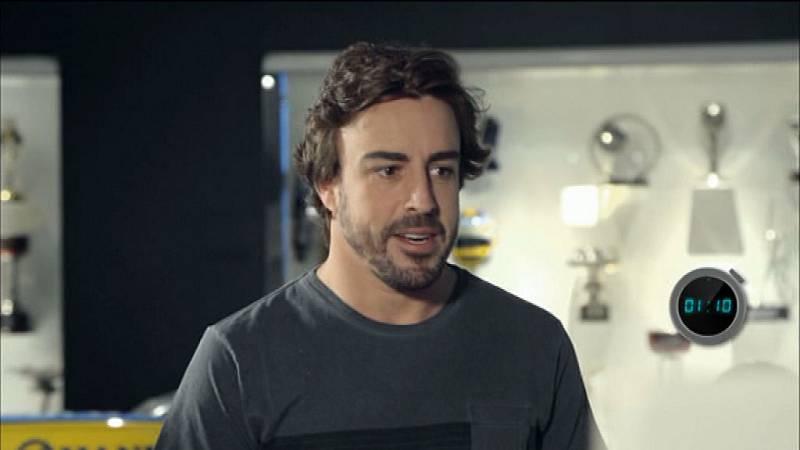 'Desafía tu mente', con Fernando Alonso el martes a las 22:15 en La 1