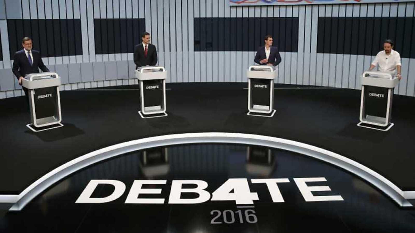 El Debate 2016 - Debate a cuatro - ver ahora