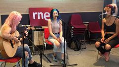 "Las mañanas de RNE - Sweet California canta ""Just one"" en directo"
