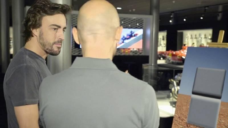 """Desafía tu mente - Fernando Alonso: """"El cuadrado de arriba es más oscuro"""""""