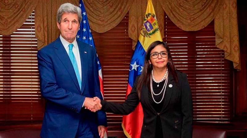 """EE.UU. y Venezuela acuerdan retomar las negociaciones de forma """"inmediata"""""""