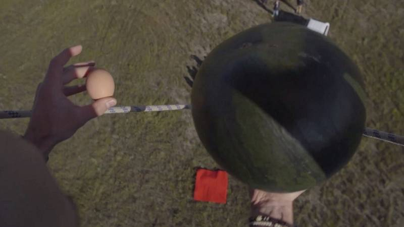 Desafía tu mente - ¿Qué caerá antes: la sandía o el huevo?