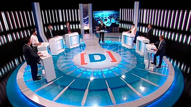 Los siete partidos reafirman sus posiciones en sus respectivos 'minutos de oro' en el debate a siete