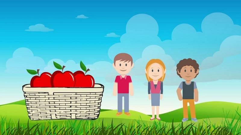 Desafía tu mente - ¿Cómo repartir tres manzanas entre tres personas y que quede una en la cesta?