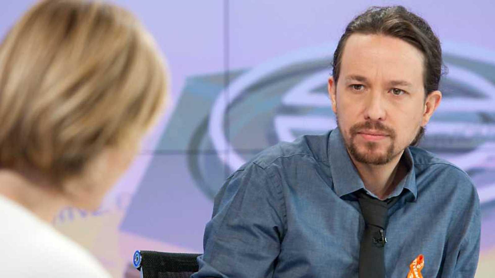 Los desayunos de TVE - Pablo Iglesias, candidato de Unidos Podemos a la presidencia del Gobierno - ver ahora