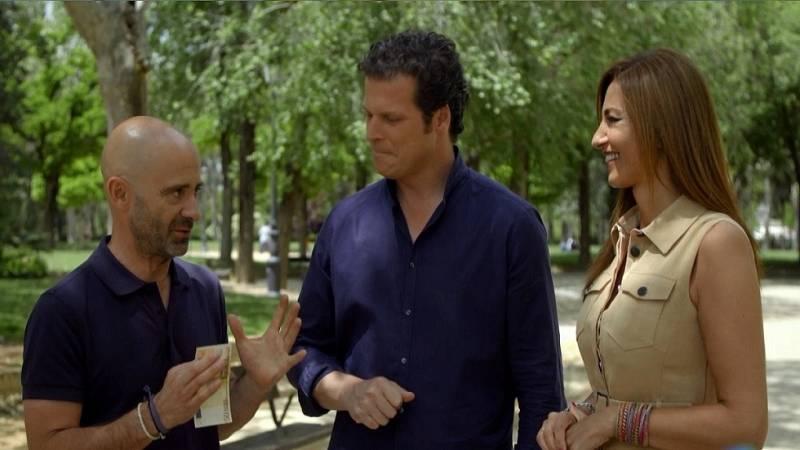 Desafía tu mente - ¿Conseguirán Mariló y Jota agarrar un billete de 50 euros?