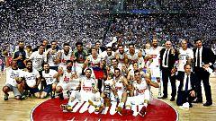 El Real Madrid se proclama campeón de Liga Endesa al derrotar (91-84) al FC Barcelona Lassa