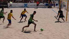 Fútbol playa - Campeonato Nacional de Liga, desde Puerto Santa María (Cádiz)
