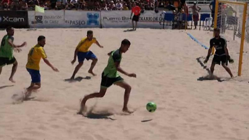 Fútbol playa - Campeonato Nacional de Liga, desde Puerto Santa María (Cádiz) - ver ahora