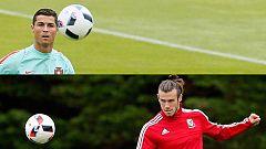 Cristiano frente a Bale, lucha de 'titanes' por un puesto en la final