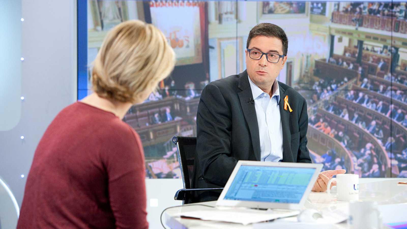 Los desayunos de TVE - Óscar López, portavoz del PSOE en el Senado
