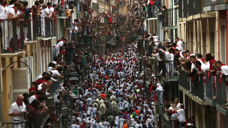 Pamplona dobla su población en Sanfermines hasta las 800.000 personas