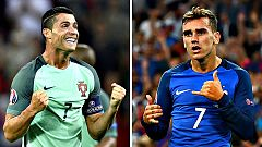 Portugal y Francia se juegan en París la gloria europea