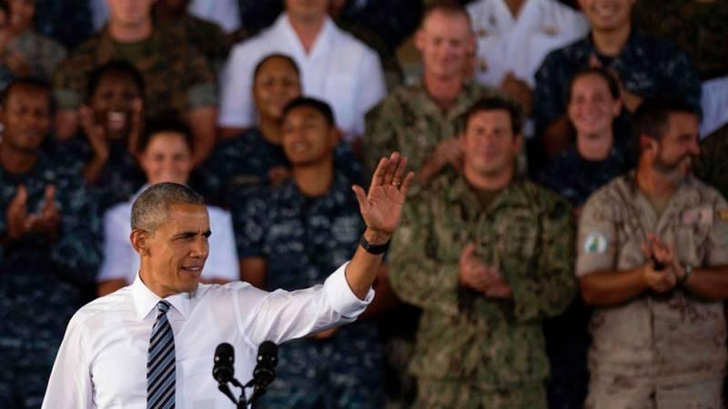 Obama, primer presidente norteamericano que visita la base de Rota
