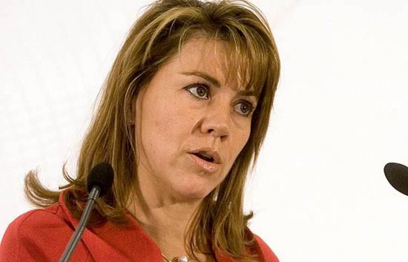 """Cospedal considera """"vergonzosa"""" la negociación de Zapatero y Montilla"""