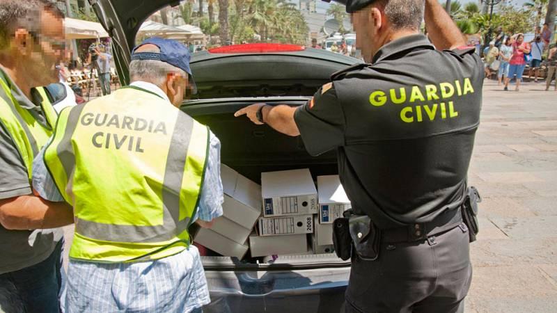 Detenidos el secretario y el interventor de Lloret por contratos presuntos contratos irregulares