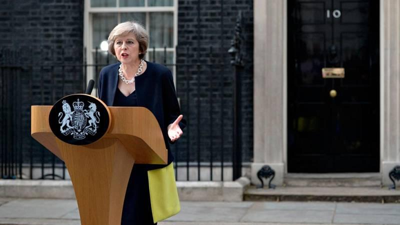 Theresa May ya es la nueva primera ministra de Reino Unido.