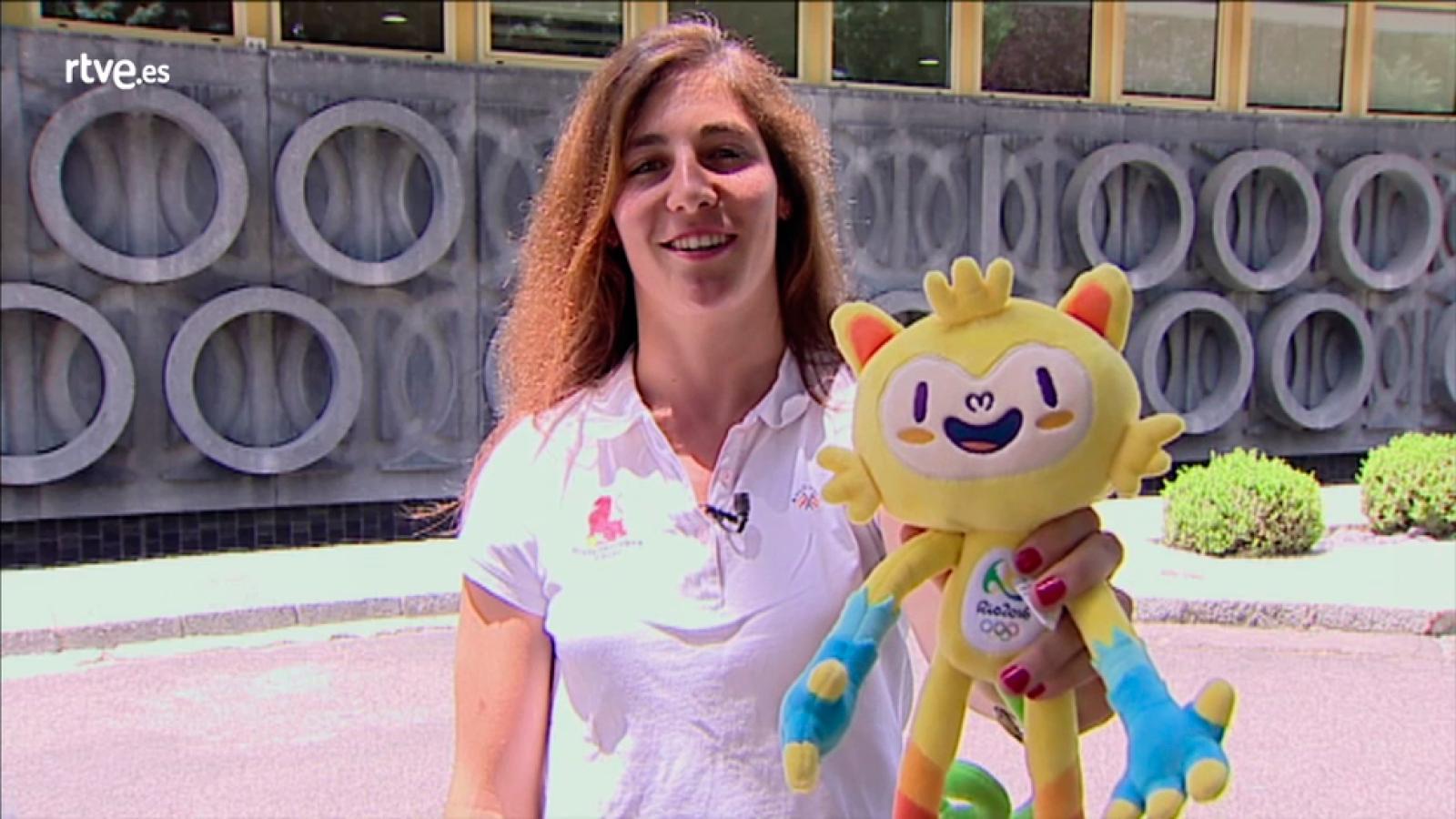 Marina Bravo - Vive Río en RTVE