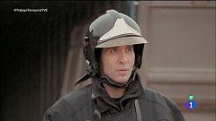 Trabajo Temporal - Mario Vaquerizo empieza las prácticas como bombero